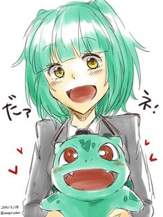 Kayano Kaede || Bulbasaur || Assassination Classroom || Pokémon
