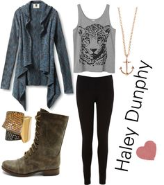 """Haley Dunphy"" by beclong-x ❤ liked on Polyvore"