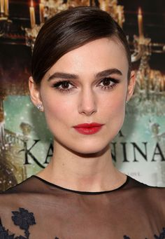 Keira Knightley at the Anna Karenina premiere. Yowza