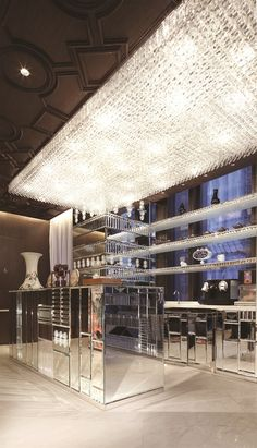 Mira Moon Hotel, Hong Kong | By Wanders & Yoo | Crystal Bar