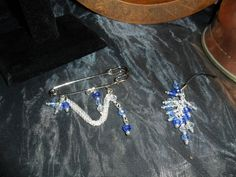Hands Crafted Suncatcher Crystal  Kilt Pin and Phone by Blandsgill, £7.00