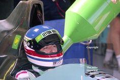 Ivan Capelli, Leyton House Judd CG901, Silverstone, British Grand Prix 1990. #f1 #formula1