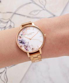 6c5831cd6ffb Lace Detail Blush   Rose Gold Mesh Watch in 2019