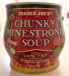 What's Good at Trader Joe's?: Trader Joe's Chunky Minestrone Soup