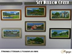 Sims 4 Tableaux Willow Creek