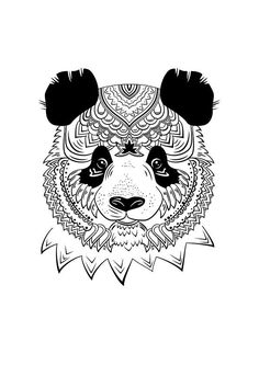 mandala-a-colorier-facilement-57 #mandala #coloriage #adulte via dessin2mandala.com