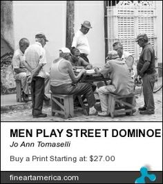 Today's blog post by Jo Ann Tomaselli on games in Cuba - H E Y!    D. O. M. I. N. O.