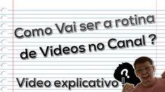 Mudança de Vídeos no Canal