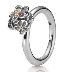 Pandora He Loves Me Diamond & 14K Ring