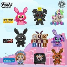 Vinyl Figures, Action Figures, Adventure Time Characters, Vhs, Freddy 's, Funko Mystery Minis, Freddy Fazbear, Threes Game, Anime Fnaf