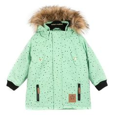 Mini Rodini Siberia Jacket Green