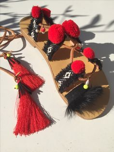 Handmade leather sandals  Follow us in Facebook