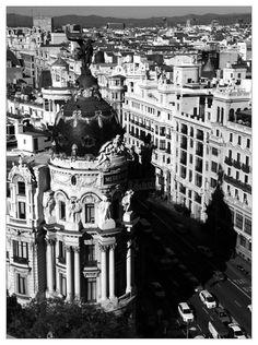 Vistas de Gran Via desde el Círculo