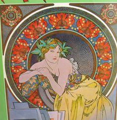 Art Nouveau Book by GrannyBeansBoutique on Etsy