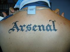 Arsenal Tattoo