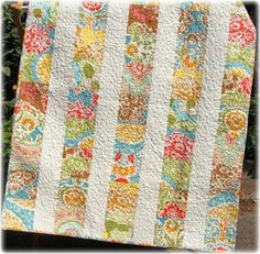 Simple quilt, this website has awesome patchwork bags and quilts