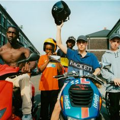 """"""" Boys on mopped """" East London, 2000 by Phil Knott"""