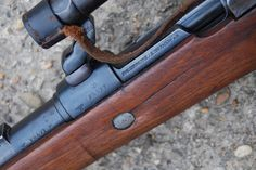 Deactivated Mauser Sniper Rifle - the infamous fitted with various scope configerations - Check this page for Deactivated Kar 98 Mauser Sniper Rifle! Airborne Ranger, K98, Closet Shoe Storage, Sniper Rifles, Weapons Guns, Small House Design, Firearms, Wwii, Action