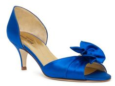 Kate Spade Evie Wedding Shoes - like the height of these heels