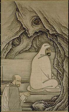 Bodhidharma, der erste Patriarch des Zen – Religion-in-Japan