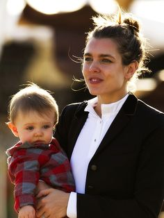 new baby...Charlotte, daughter of Princess Caroline, granddaughter of Princess Grace...