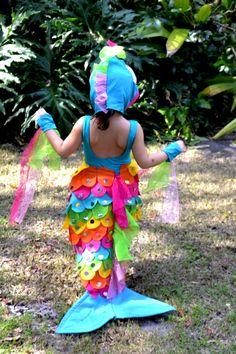 Rainbow Fish Costume Crafted By Yudi