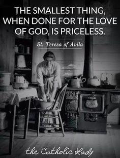 ...The Catholic lady