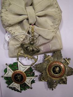 Order of Leopold (naval) Grand Cordon set, with badge  and breast star.