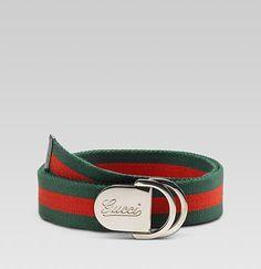 26d1a55d3e1 Gucci - Web belt with Gucci buckle