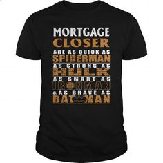 MORTGAGE CLOSER - BATMAN - #womens #wholesale hoodies. MORE INFO => https://www.sunfrog.com/LifeStyle/MORTGAGE-CLOSER--BATMAN-Black-Guys.html?60505