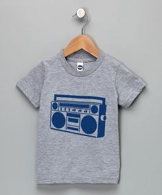 Grubbie Style Boombox Tee (Yeah, we've heard this jam before, it's pretty sweet) #cutiestyle #zulily