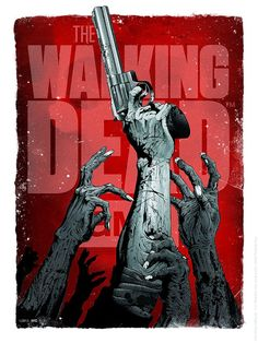 "Here's an awesome collection of poster art for The Walking Dead. It comes from Hanzel Haro , and it's part of the upcoming ""AMC The Walking Dead"" art show being put on by Hero Complex Gallery . The show opens Friday, October and I can't Walking Dead Comics, Walking Dead Funny, Poster The Walking Dead, Zombies The Walking Dead, Walking Dead Tv Series, Walking Dead Season, Fear The Walking Dead, Walking Dead Fan Art, Walking Dead Drawings"