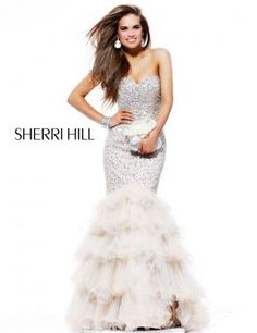 Sherri Hill 2801, Going to try this on as a wedding dress! You do not need a bridal store to get a wedding dress ;)