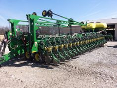 54 row 2012  John Deere DB90.This is the largest corn planter I have ever seen.The price was $295,000 but has reduced to $250,000.