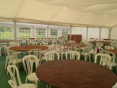A Gala Tent Marquee used for a garden party #diy #gardenparty