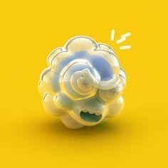 3D Illustrations — 2013 on Behance