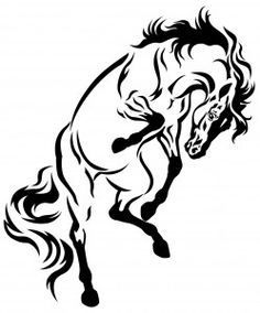 Horse Tattoo - Meaning of Horse Tattoos - http://www.tattooneed.com/meaning-of-horse-tattoos/