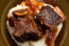Pressure Cooker Cola-Braised Beef Short Ribs
