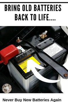 Recondition all kinds of old batteries with just simple supplies you probably already have in your home. Step-by-step guides that show you how to recondition batteries. Headlight Restoration, Lead Acid Battery, Diy Car, Car Cleaning, Car Manufacturers, Tool Kit, Restore, Simple, Key