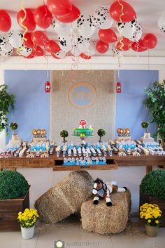 Decoração Festa infantil fazendinha