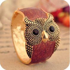 Owl Bracelet! Love it!