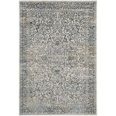 Shop for Safavieh Princeton Vintage Oriental Cream / Slate Rug (9' x 12'). Get free shipping at Overstock.com - Your Online Home Decor Outlet Store! Get 5% in rewards with Club O!