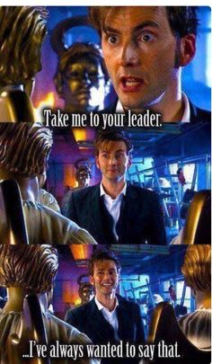 1st time 10th doctor says it