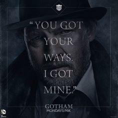 Harvey Bullock #Gotham