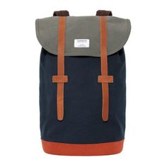 stig_backpack_by_sandqvistThe Stig is a simple and classic backpack constructed in heavy, durable cotton canvas with luxe leather accents. The pack features an interior zip pocket, along with a padded. Weekender, Canvas Backpack, Chanel Handbags, Designer Handbags, Nike Sb, Backpacker, Dooney Bourke, Fashion Bags, Womens Fashion