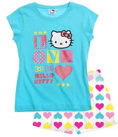 Hello Kitty Short Sleeve Pyjama blue