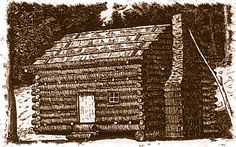 """Wondering what homes were like for pioneers? This fun page will help kids (and adults too!) learn more about homes during the """"Little House on the Prairie era""""."""