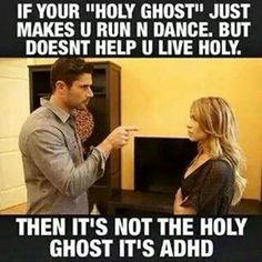 No offense to my ADHD homies but I think there might be some #truth here | and if you're not willing to be diagnosed or get help, then it's a cry for attention.