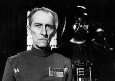 "the edit room floor: unseen photos from ""Star Wars"" : Governor Tarkin Episode Vii, Star Wars Film, Original Trilogy, Star Wars Baby, Walt Disney Pictures, Star War 3, A New Hope, Star Wars Episodes, Science Fiction"