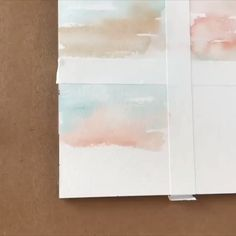 Abstract Watercolor Tutorial, Watercolor Beginner, Watercolor Art Diy, Watercolor Paintings For Beginners, Watercolor Art Lessons, Watercolor Video, Beach Watercolor, Watercolor Paintings Abstract, Acrylic Painting Techniques